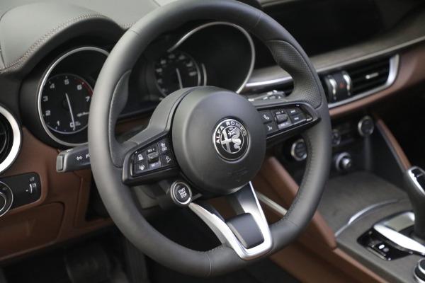 New 2021 Alfa Romeo Stelvio Ti Q4 for sale $54,840 at Maserati of Greenwich in Greenwich CT 06830 17