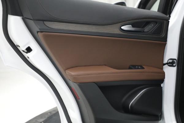 New 2021 Alfa Romeo Stelvio Ti Q4 for sale $54,840 at Maserati of Greenwich in Greenwich CT 06830 26