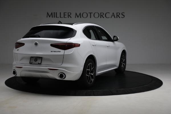 New 2021 Alfa Romeo Stelvio Ti Q4 for sale $54,840 at Maserati of Greenwich in Greenwich CT 06830 7