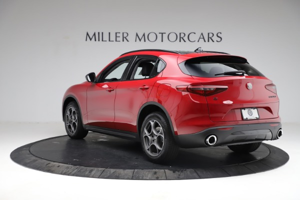 New 2021 Alfa Romeo Stelvio Q4 for sale $50,535 at Maserati of Greenwich in Greenwich CT 06830 6