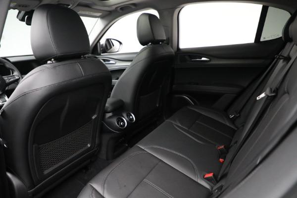 New 2021 Alfa Romeo Stelvio Ti Q4 for sale Sold at Maserati of Greenwich in Greenwich CT 06830 21