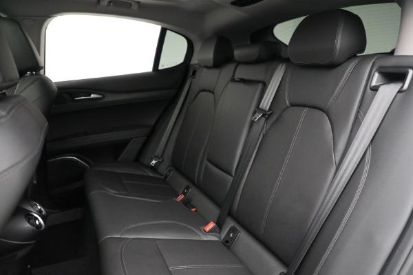 New 2021 Alfa Romeo Stelvio Ti Q4 for sale Sold at Maserati of Greenwich in Greenwich CT 06830 23