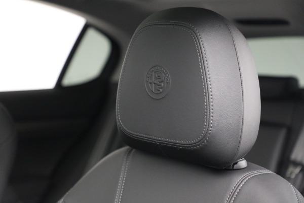 New 2021 Alfa Romeo Stelvio Ti Q4 for sale Sold at Maserati of Greenwich in Greenwich CT 06830 26