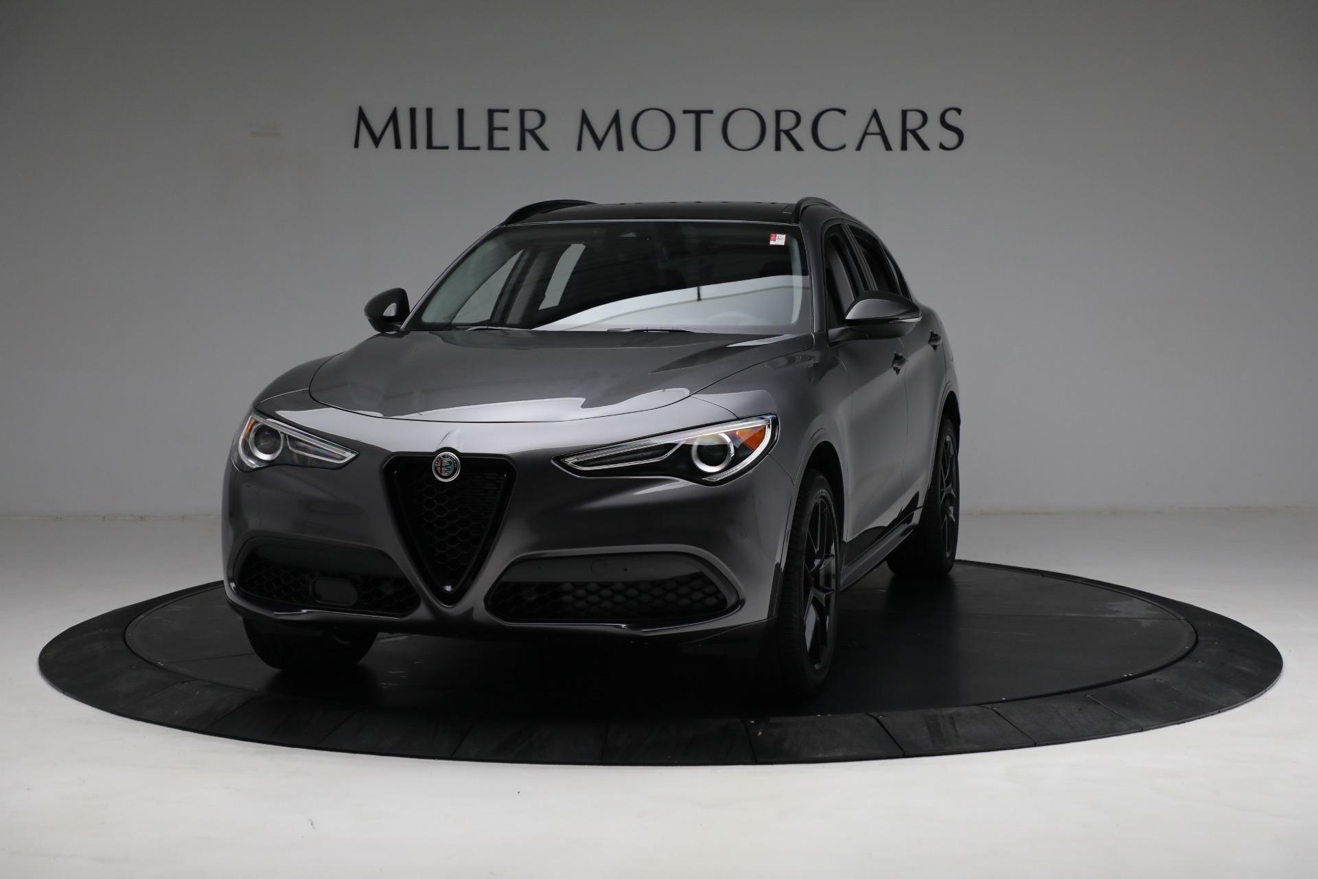 New 2021 Alfa Romeo Stelvio Ti Q4 for sale $52,705 at Maserati of Greenwich in Greenwich CT 06830 1