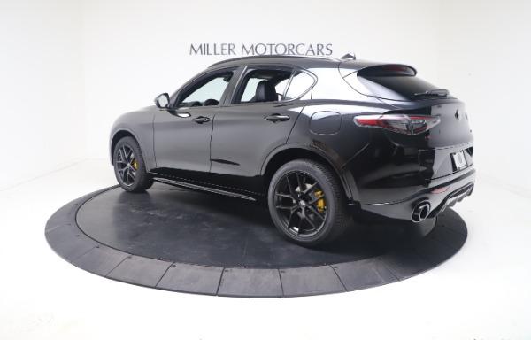 New 2021 Alfa Romeo Stelvio Ti Sport Q4 for sale $56,900 at Maserati of Greenwich in Greenwich CT 06830 5