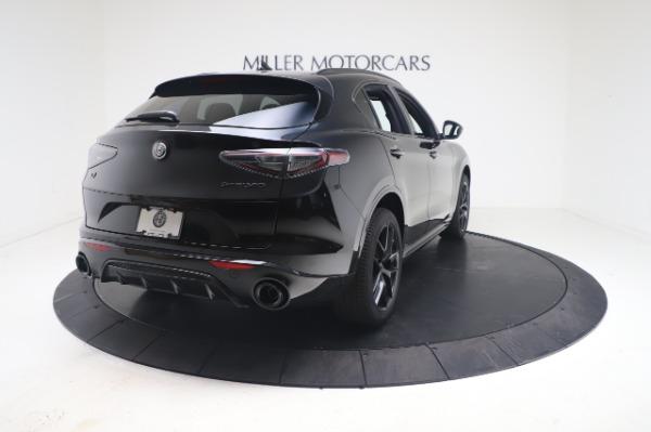 New 2021 Alfa Romeo Stelvio Ti Sport Q4 for sale $56,900 at Maserati of Greenwich in Greenwich CT 06830 7