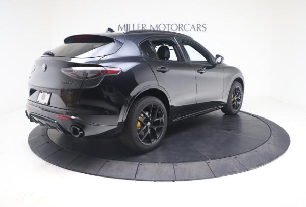 New 2021 Alfa Romeo Stelvio Ti Sport Q4 for sale $56,900 at Maserati of Greenwich in Greenwich CT 06830 8