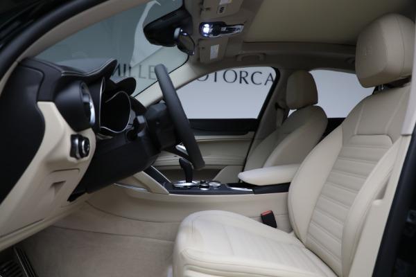 New 2021 Alfa Romeo Stelvio Ti Q4 for sale $55,205 at Maserati of Greenwich in Greenwich CT 06830 14