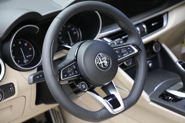 New 2021 Alfa Romeo Stelvio Ti Q4 for sale $55,205 at Maserati of Greenwich in Greenwich CT 06830 20