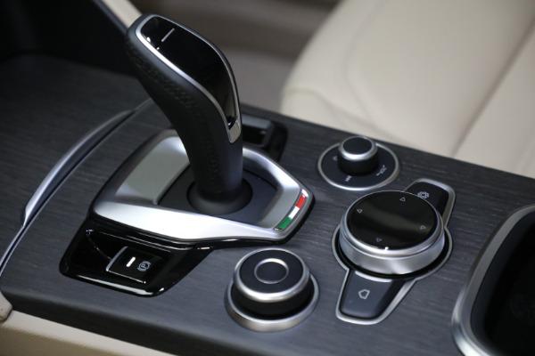 New 2021 Alfa Romeo Stelvio Ti Q4 for sale $55,205 at Maserati of Greenwich in Greenwich CT 06830 21