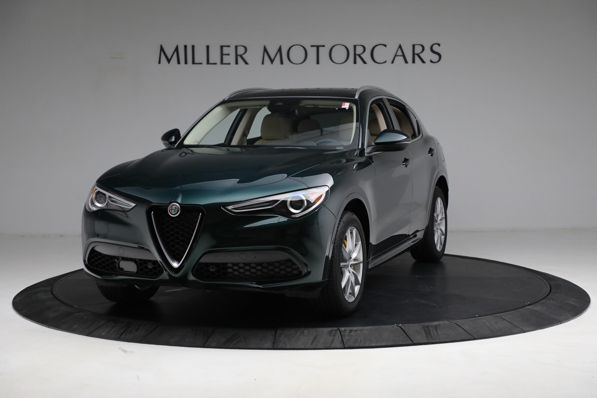New 2021 Alfa Romeo Stelvio Ti Q4 for sale $55,205 at Maserati of Greenwich in Greenwich CT 06830 1