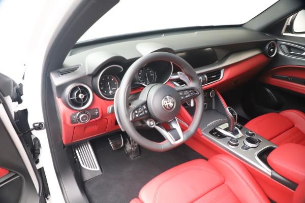 New 2021 Alfa Romeo Stelvio Ti Sport Q4 for sale Call for price at Maserati of Greenwich in Greenwich CT 06830 13