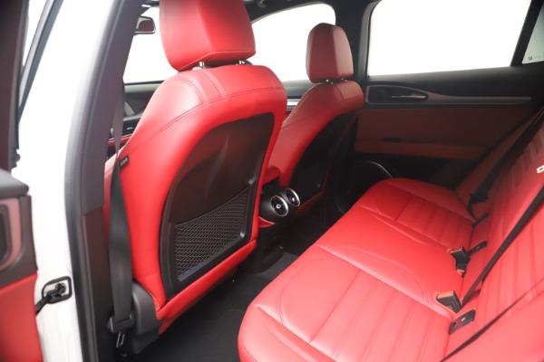 New 2021 Alfa Romeo Stelvio Ti Sport Q4 for sale Call for price at Maserati of Greenwich in Greenwich CT 06830 17