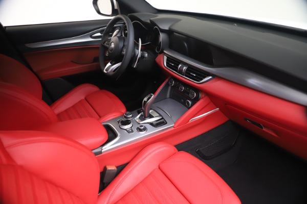 New 2021 Alfa Romeo Stelvio Ti Sport Q4 for sale Call for price at Maserati of Greenwich in Greenwich CT 06830 18