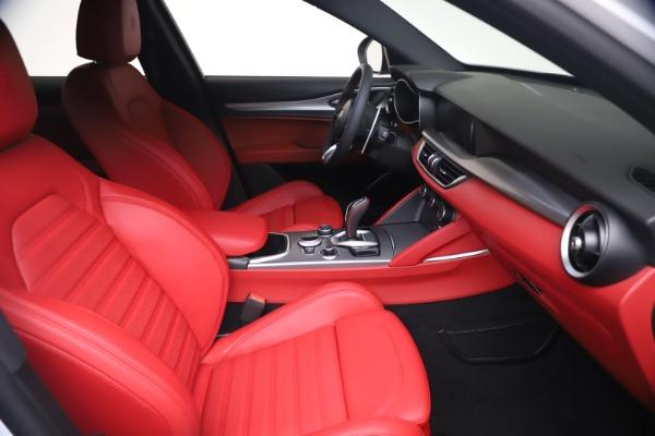 New 2021 Alfa Romeo Stelvio Ti Sport Q4 for sale Call for price at Maserati of Greenwich in Greenwich CT 06830 19