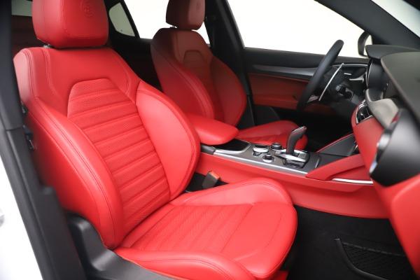 New 2021 Alfa Romeo Stelvio Ti Sport Q4 for sale Call for price at Maserati of Greenwich in Greenwich CT 06830 20