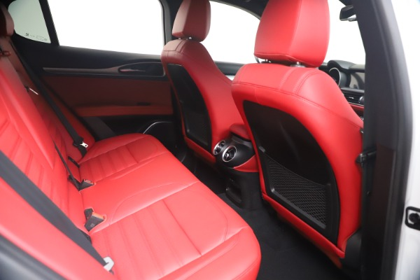 New 2021 Alfa Romeo Stelvio Ti Sport Q4 for sale Call for price at Maserati of Greenwich in Greenwich CT 06830 21