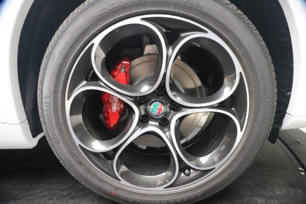 New 2021 Alfa Romeo Stelvio Ti Sport Q4 for sale Call for price at Maserati of Greenwich in Greenwich CT 06830 22