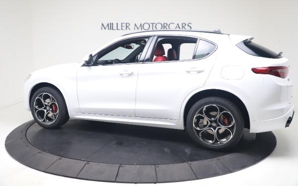 New 2021 Alfa Romeo Stelvio Ti Sport Q4 for sale Call for price at Maserati of Greenwich in Greenwich CT 06830 4