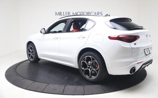 New 2021 Alfa Romeo Stelvio Ti Sport Q4 for sale Call for price at Maserati of Greenwich in Greenwich CT 06830 5