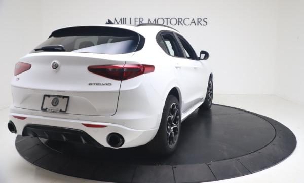 New 2021 Alfa Romeo Stelvio Ti Sport Q4 for sale Call for price at Maserati of Greenwich in Greenwich CT 06830 7