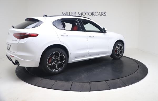 New 2021 Alfa Romeo Stelvio Ti Sport Q4 for sale Call for price at Maserati of Greenwich in Greenwich CT 06830 8