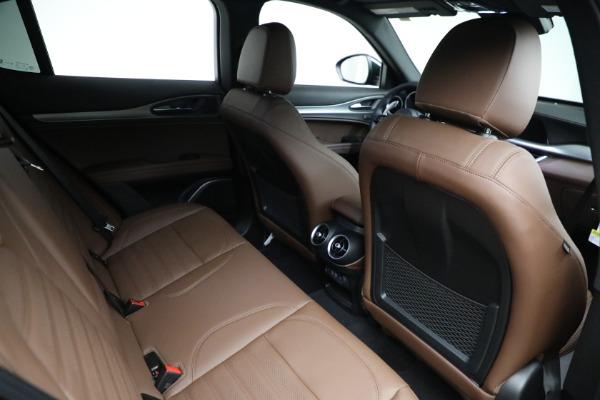 New 2021 Alfa Romeo Stelvio Ti Sport Q4 for sale Sold at Maserati of Greenwich in Greenwich CT 06830 21