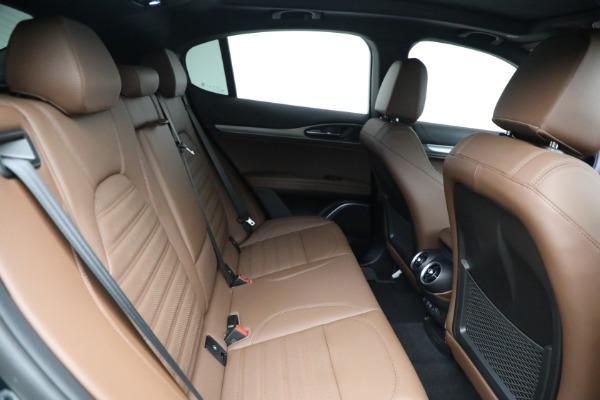 New 2021 Alfa Romeo Stelvio Ti Sport Q4 for sale Sold at Maserati of Greenwich in Greenwich CT 06830 22