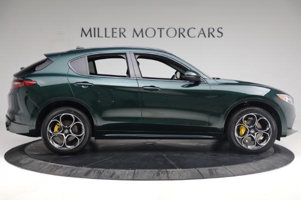 New 2021 Alfa Romeo Stelvio Ti Sport Q4 for sale Sold at Maserati of Greenwich in Greenwich CT 06830 9