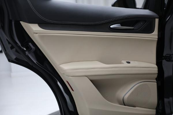 New 2021 Alfa Romeo Stelvio Ti Q4 for sale $57,400 at Maserati of Greenwich in Greenwich CT 06830 24