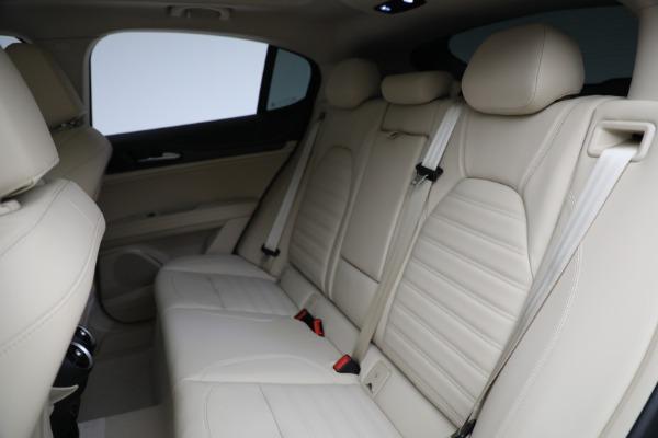 New 2021 Alfa Romeo Stelvio Ti Q4 for sale $57,400 at Maserati of Greenwich in Greenwich CT 06830 27