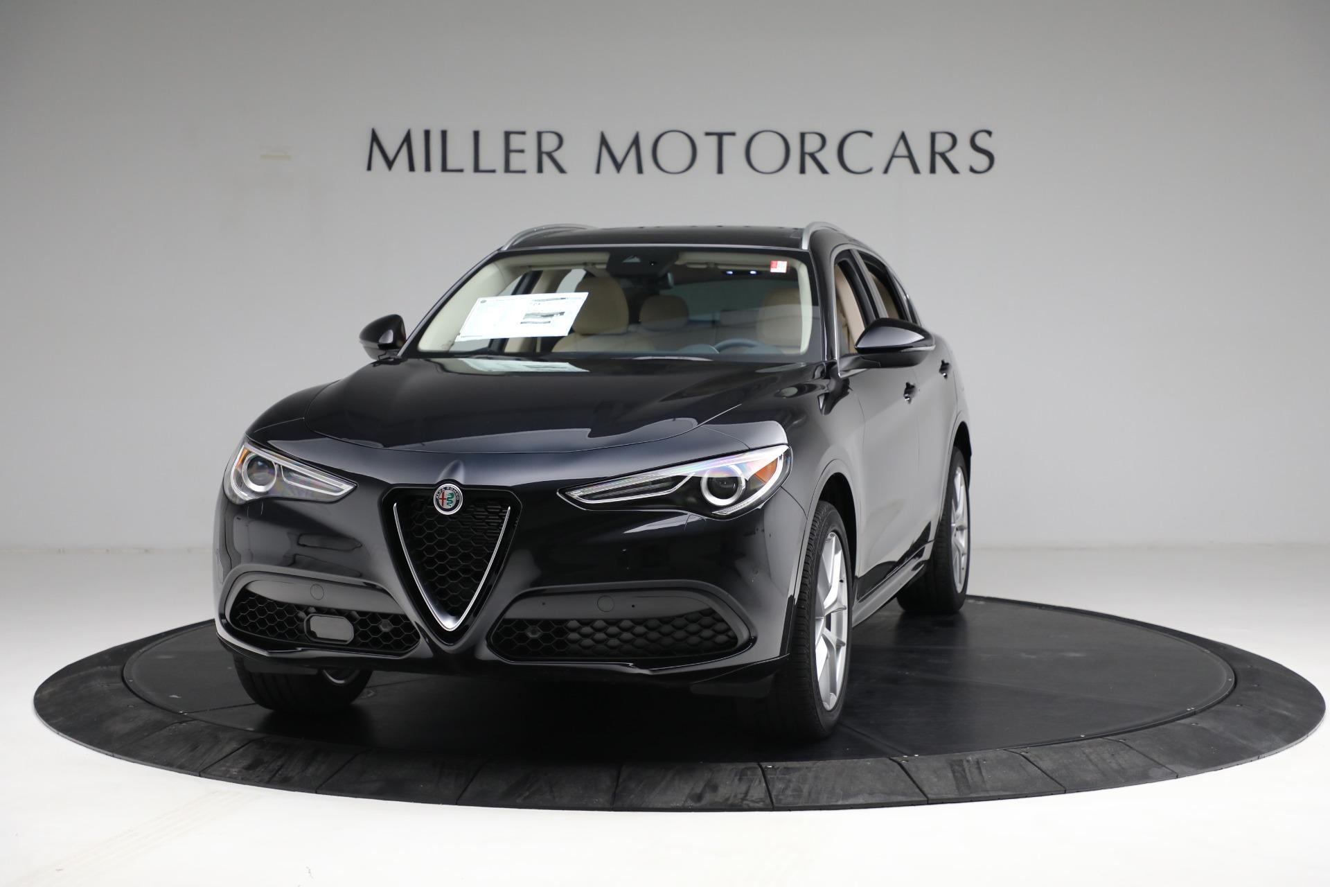 New 2021 Alfa Romeo Stelvio Ti Q4 for sale $57,400 at Maserati of Greenwich in Greenwich CT 06830 1