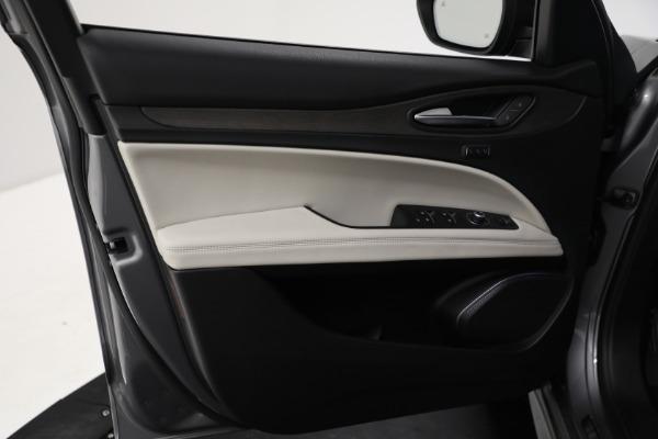 New 2021 Alfa Romeo Stelvio Ti Q4 for sale $54,400 at Maserati of Greenwich in Greenwich CT 06830 15