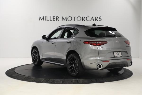 New 2021 Alfa Romeo Stelvio Ti Q4 for sale $54,400 at Maserati of Greenwich in Greenwich CT 06830 5