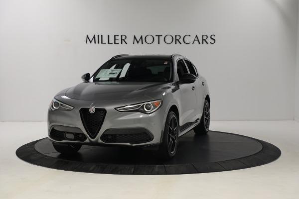 New 2021 Alfa Romeo Stelvio Ti Q4 for sale $54,400 at Maserati of Greenwich in Greenwich CT 06830 1