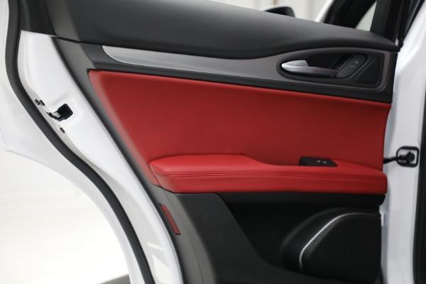 New 2021 Alfa Romeo Stelvio Ti Sport Q4 for sale Sold at Maserati of Greenwich in Greenwich CT 06830 25