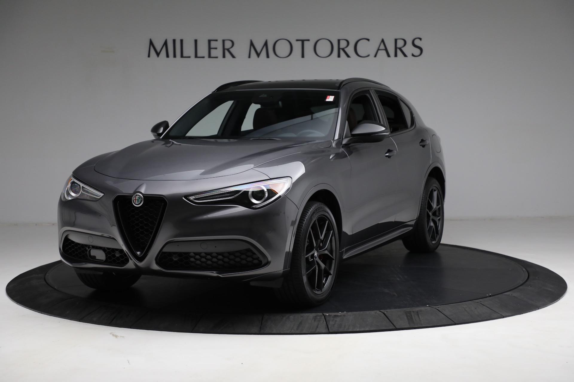 New 2021 Alfa Romeo Stelvio Ti Sport Q4 for sale $55,205 at Maserati of Greenwich in Greenwich CT 06830 1