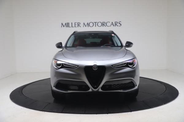 New 2021 Alfa Romeo Stelvio Ti Q4 for sale $54,400 at Maserati of Greenwich in Greenwich CT 06830 12