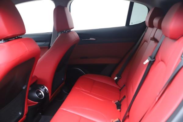 New 2021 Alfa Romeo Stelvio Ti Q4 for sale $54,400 at Maserati of Greenwich in Greenwich CT 06830 14