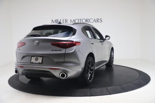 New 2021 Alfa Romeo Stelvio Ti Q4 for sale $54,400 at Maserati of Greenwich in Greenwich CT 06830 7
