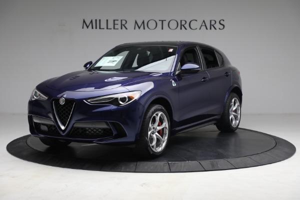 New 2021 Alfa Romeo Stelvio Quadrifoglio for sale $88,550 at Maserati of Greenwich in Greenwich CT 06830 2
