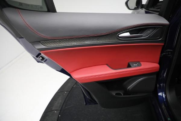 New 2021 Alfa Romeo Stelvio Quadrifoglio for sale $88,550 at Maserati of Greenwich in Greenwich CT 06830 20