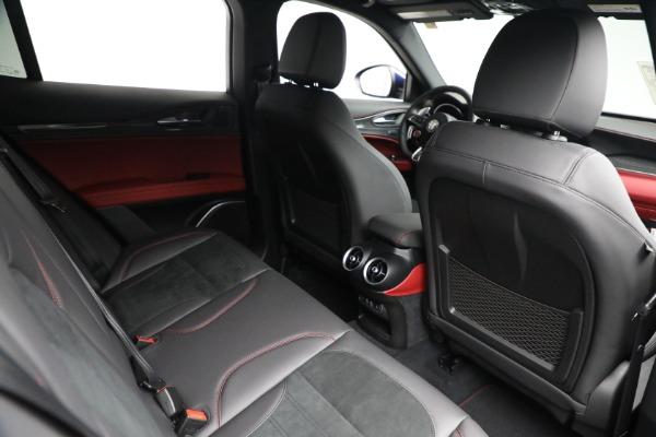 New 2021 Alfa Romeo Stelvio Quadrifoglio for sale $88,550 at Maserati of Greenwich in Greenwich CT 06830 24