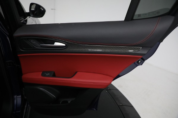 New 2021 Alfa Romeo Stelvio Quadrifoglio for sale $88,550 at Maserati of Greenwich in Greenwich CT 06830 26