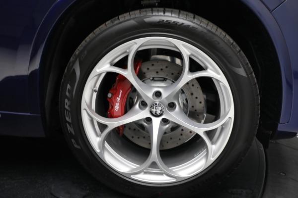 New 2021 Alfa Romeo Stelvio Quadrifoglio for sale $88,550 at Maserati of Greenwich in Greenwich CT 06830 27