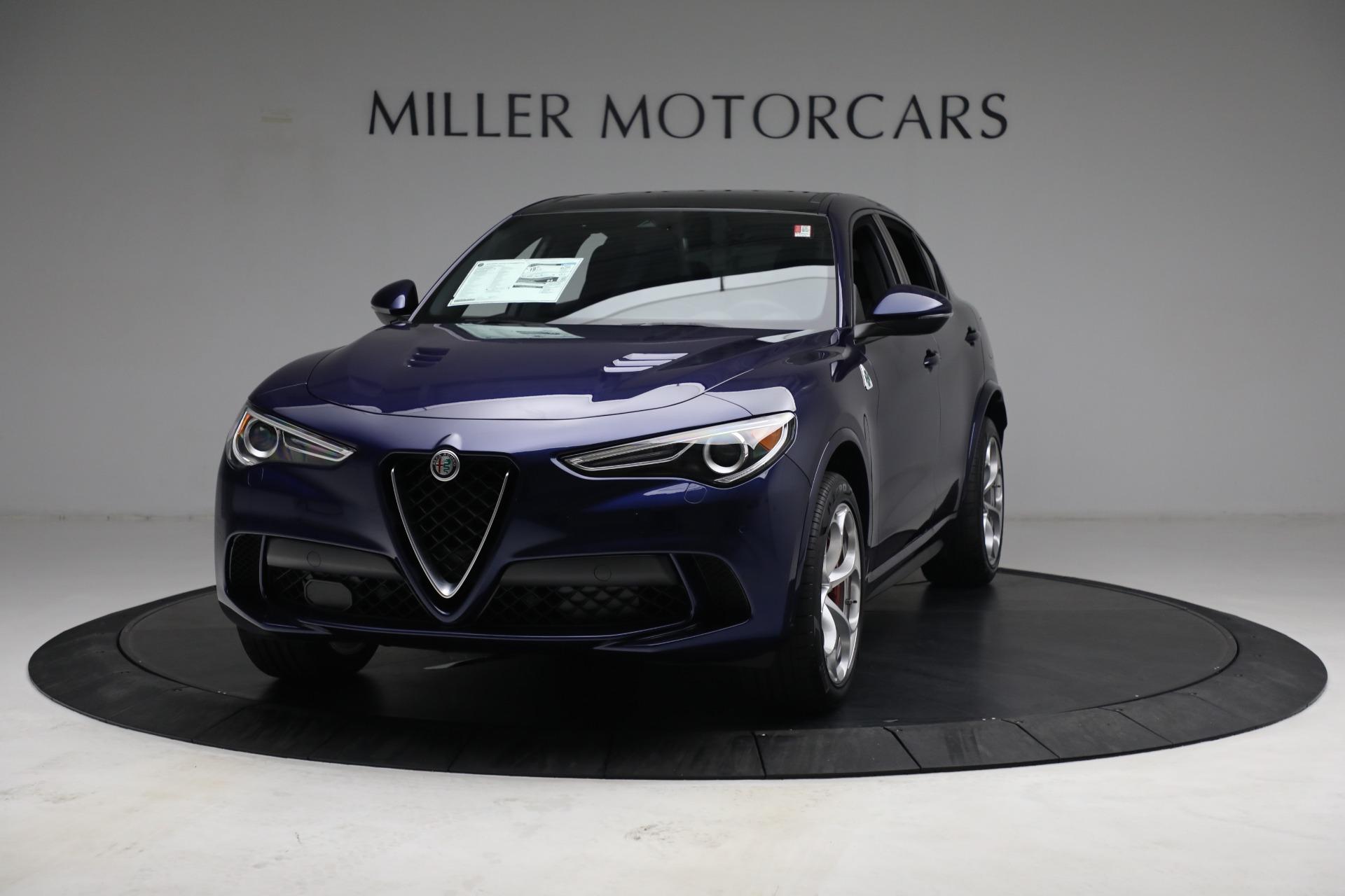 New 2021 Alfa Romeo Stelvio Quadrifoglio for sale $88,550 at Maserati of Greenwich in Greenwich CT 06830 1