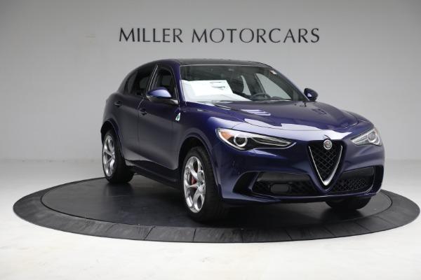 New 2021 Alfa Romeo Stelvio Quadrifoglio for sale $88,550 at Maserati of Greenwich in Greenwich CT 06830 10