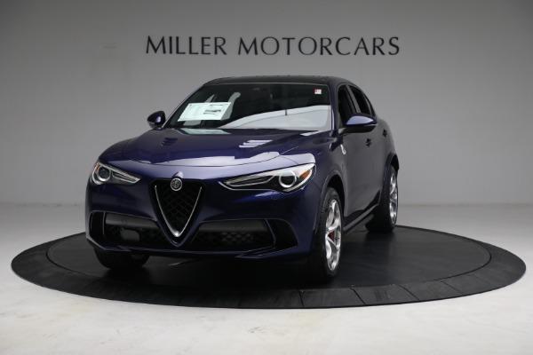 New 2021 Alfa Romeo Stelvio Quadrifoglio for sale $88,550 at Maserati of Greenwich in Greenwich CT 06830 12