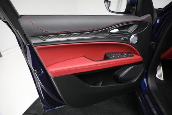 New 2021 Alfa Romeo Stelvio Quadrifoglio for sale $88,550 at Maserati of Greenwich in Greenwich CT 06830 16