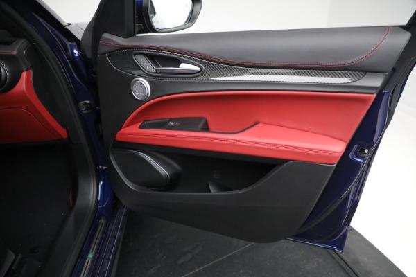 New 2021 Alfa Romeo Stelvio Quadrifoglio for sale $88,550 at Maserati of Greenwich in Greenwich CT 06830 23